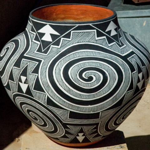 Acoma Pottery & the Four Matriarchs  card image