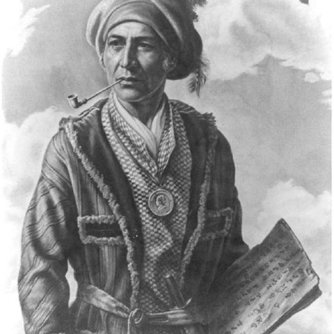 Sequoyah and the Cherokee Syllabary card image