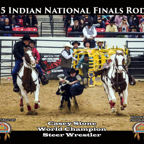 The Largest Indian Rodeo card image
