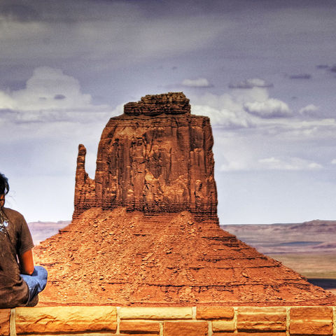 Navajo Girl Monument Valley