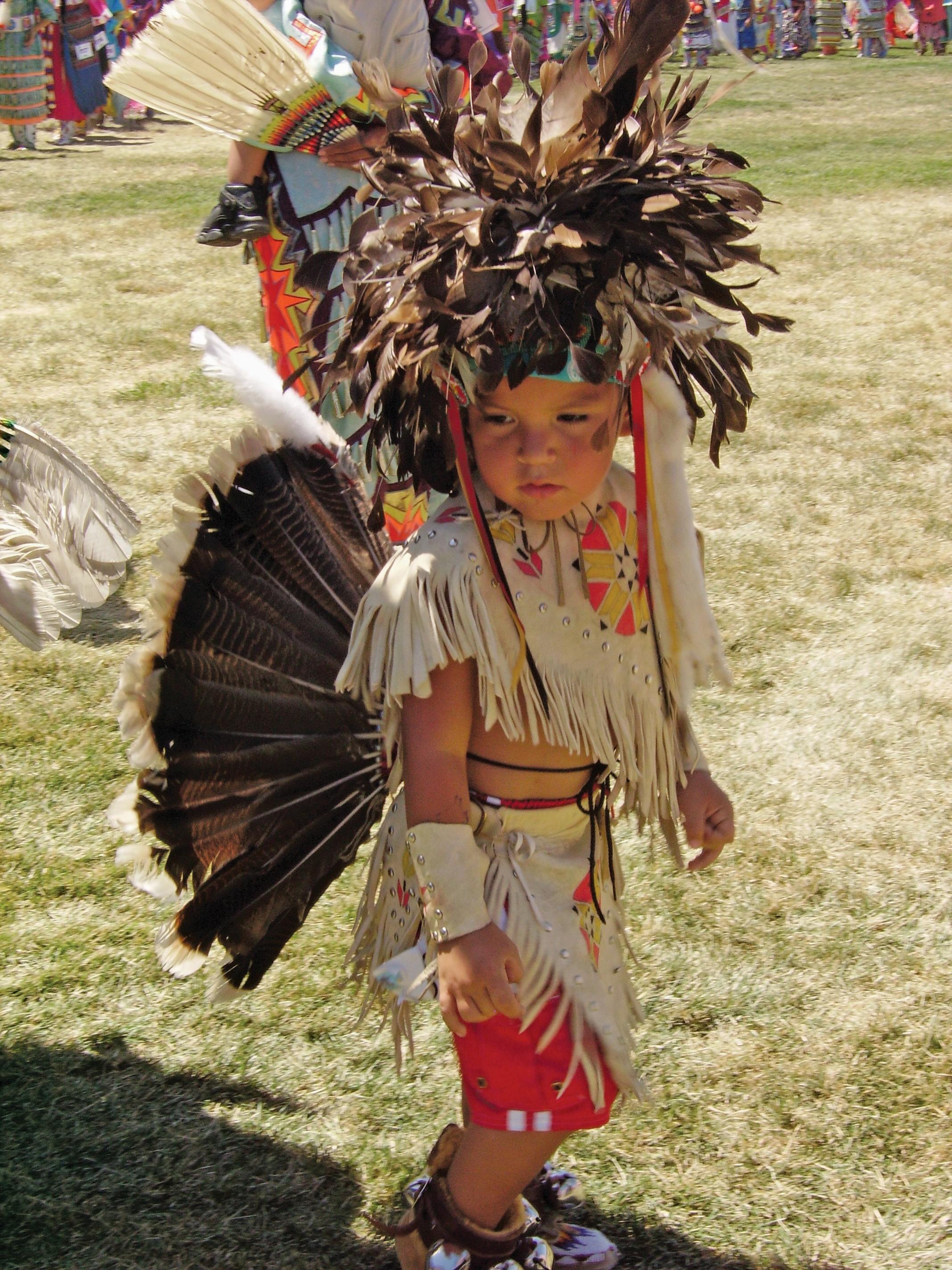 Dancer at Annual Kidz Pow Wow