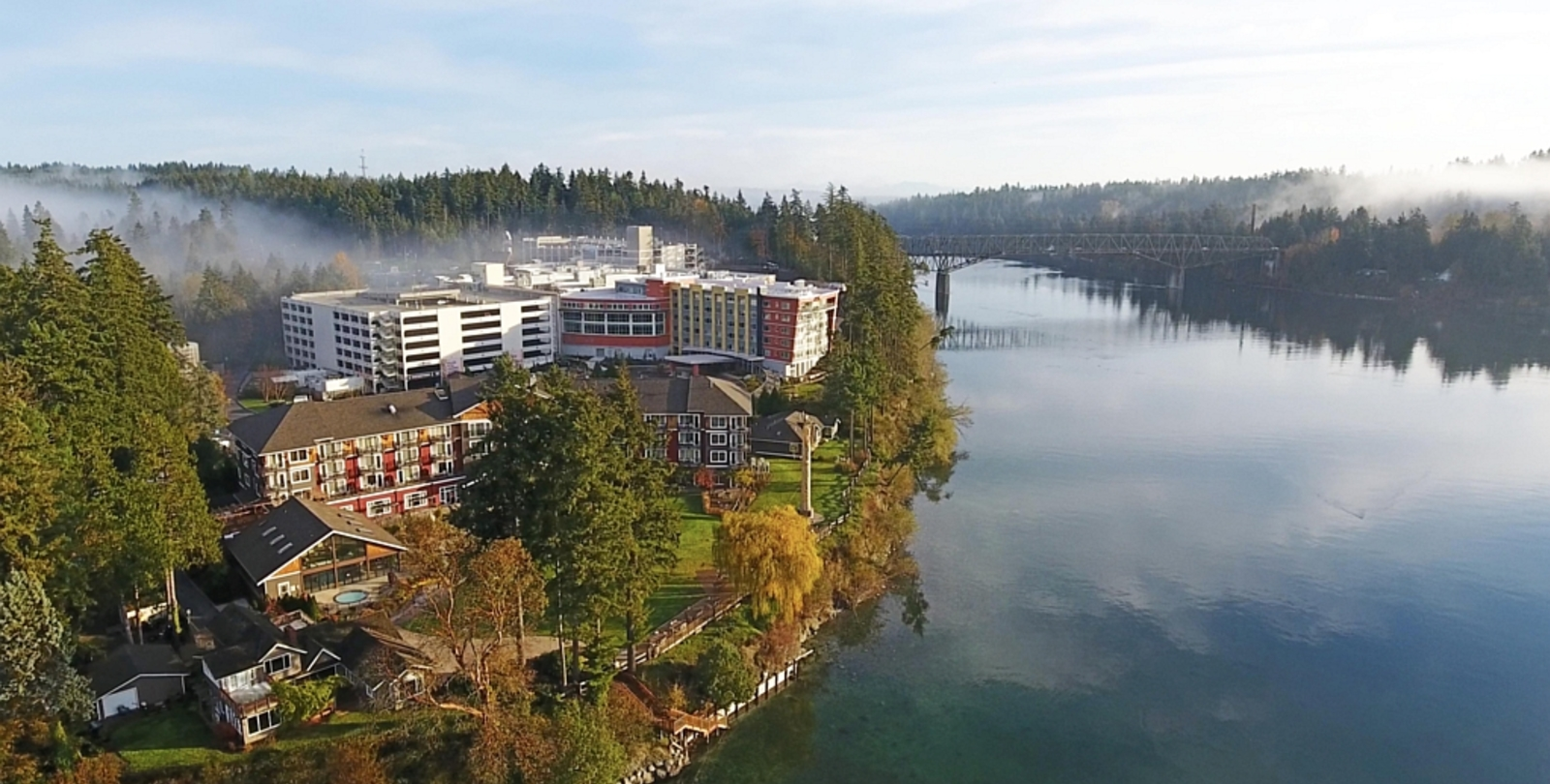 Suquamish Clearwater Resort - Sky View