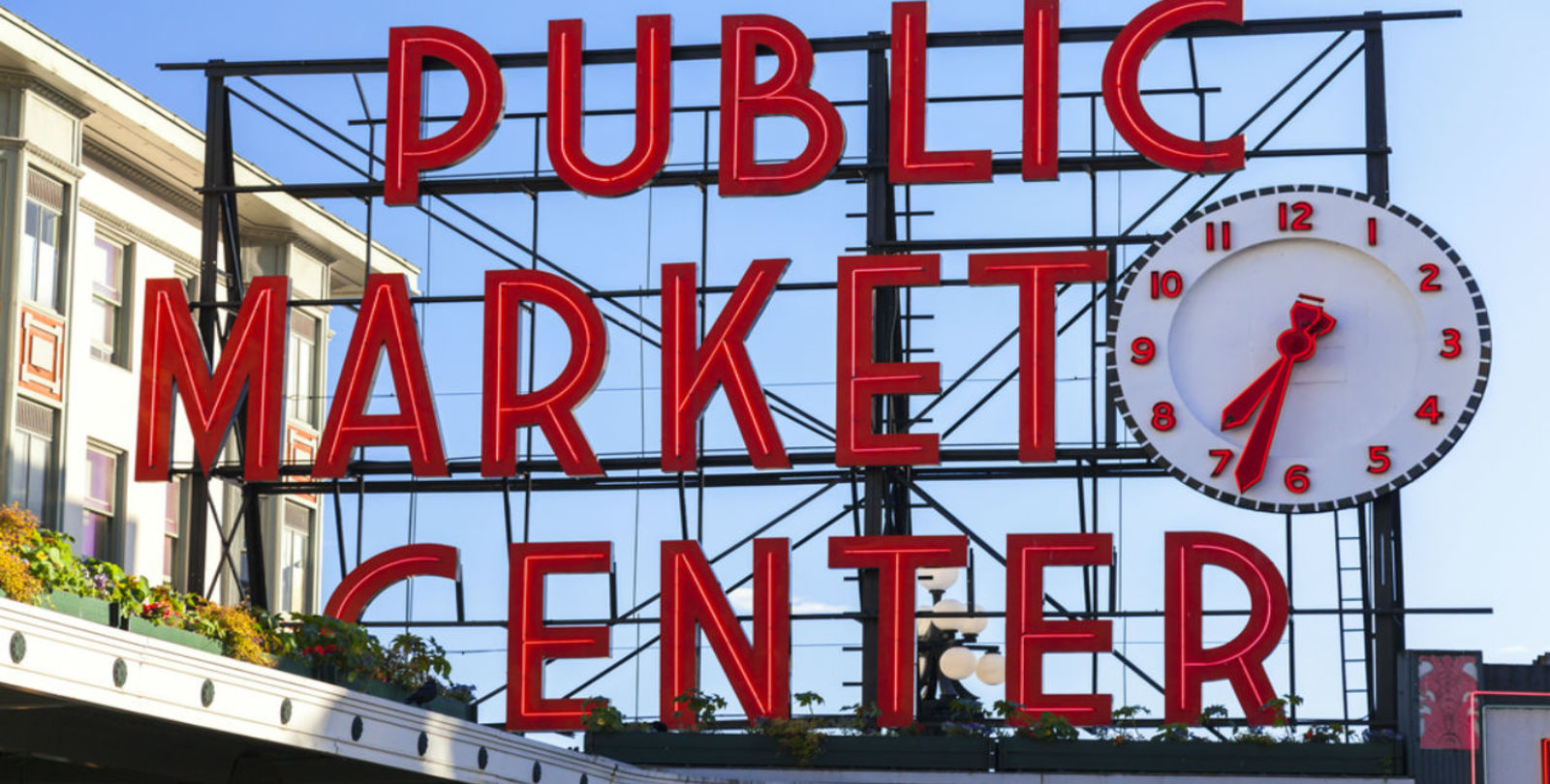 Pike's Market Place - Downtown Seattle