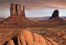 Monument Valley: Landscapes of the American West card image