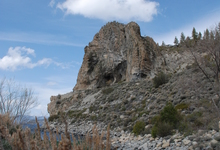 Cave Rock (De'ek wadapushand) is one of the most sacred cultural and spiritual sites to the Washoe