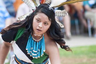 Card fit cachini dancers of zuni pueblo