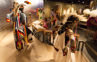 Card fit mli exhibit powwow