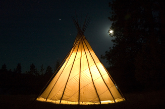 Card fit light tipi