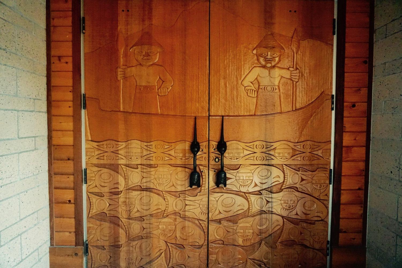 Hibulb cultural center   doors